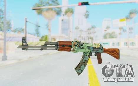 CS:GO - AK-47 Fire Serpent für GTA San Andreas