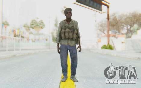 CoD MW3 Africa Militia v4 pour GTA San Andreas deuxième écran