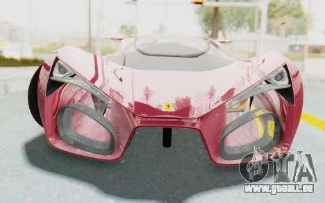 Ferrari F80 Concept für GTA San Andreas Rückansicht