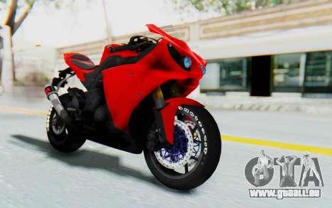 Yamaha YZF-R1 für GTA San Andreas