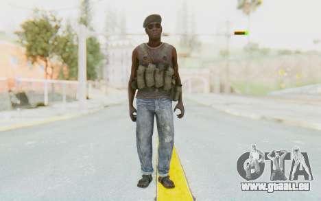 CoD MW3 Africa Militia v1 pour GTA San Andreas deuxième écran