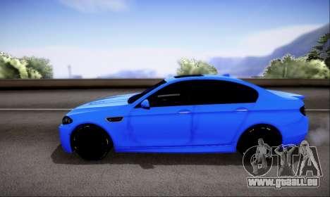 BMW M5 F10 G-Power für GTA San Andreas Seitenansicht
