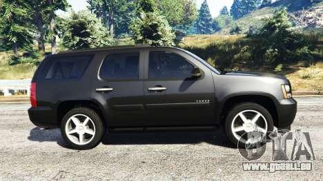 GTA 5 Chevrolet Tahoe vue latérale gauche