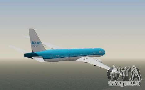 Boeing 777-300ER KLM - Royal Dutch Airlines v2 pour GTA San Andreas vue de droite