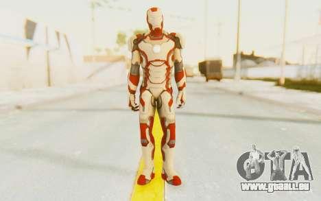 Marvel Heroes - Ironman Mk42 pour GTA San Andreas deuxième écran
