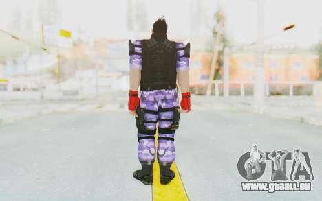 Kazuya Mishima (Ops Suit) pour GTA San Andreas troisième écran