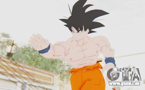 Dragon Ball Xenoverse Goku Shirtless SJ pour GTA San Andreas