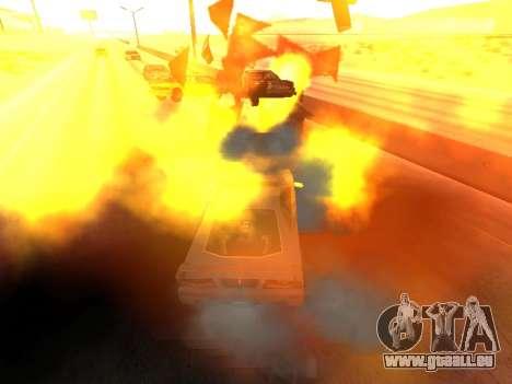 Blast machines pour GTA San Andreas troisième écran