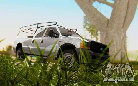 Ford F-250 XL 2002 für GTA San Andreas