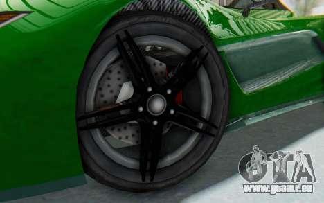 GTA 5 Progen T20 Devil PJ für GTA San Andreas Rückansicht