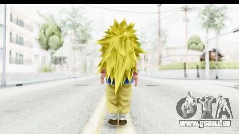 Dragon Ball Xenoverse Goku GT Adult SSJ3 pour GTA San Andreas troisième écran