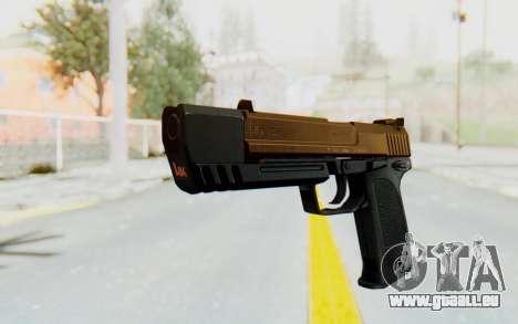 HK USP 45 Sand Frame pour GTA San Andreas