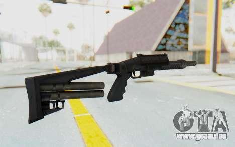 Federation Elite Bulldog pour GTA San Andreas deuxième écran