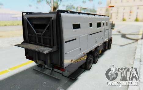 GTA 5 HVY Brickade IVF pour GTA San Andreas laissé vue