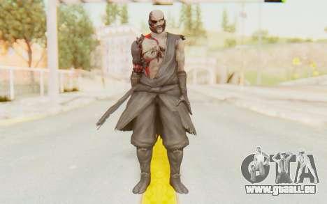 Dead Or Alive 5 Last Round - Raidou pour GTA San Andreas deuxième écran