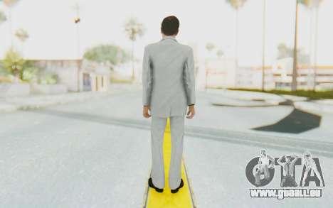 Mafia 2 - Vito Scaletta Madman Suit W&B pour GTA San Andreas troisième écran