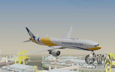 Boeing 777-300ER Singapore Airlines v2 pour GTA San Andreas
