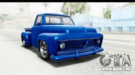 GTA 5 Vapid Slamvan Custom pour GTA San Andreas vue de droite