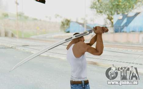 Yuri Katana für GTA San Andreas dritten Screenshot