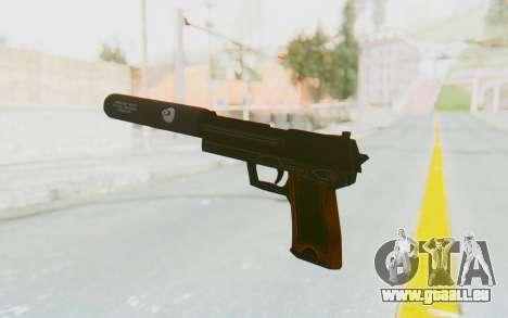 APB Reloaded - Obeya FBW Silenced pour GTA San Andreas troisième écran
