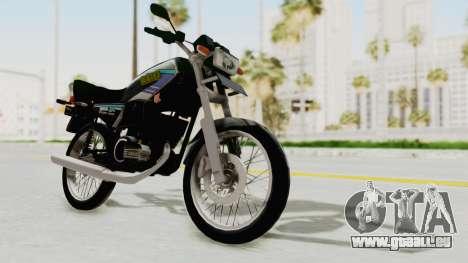 Yamaha RX King 135 1993 für GTA San Andreas rechten Ansicht