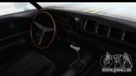 Mercury Cyclone Spoiler 1970 pour GTA San Andreas vue intérieure