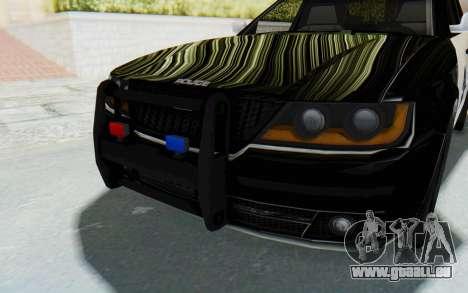 ASYM Desanne XT Pursuit v2 pour GTA San Andreas vue de côté