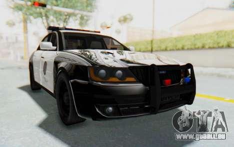 ASYM Desanne XT Pursuit v1 für GTA San Andreas