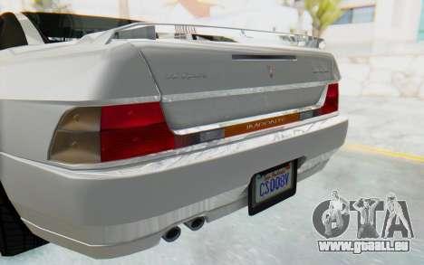 GTA 5 Imponte DF8-90 für GTA San Andreas Innenansicht