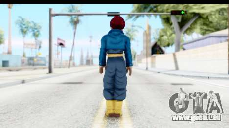 Dragon Ball Xenoverse Future Trunks SSG für GTA San Andreas dritten Screenshot