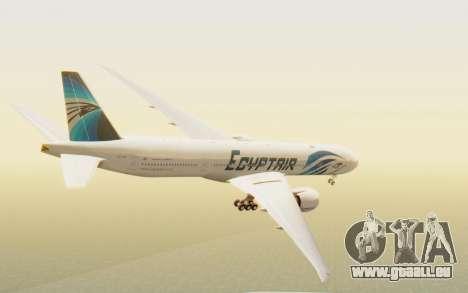 Boeing 777-300ER EgyptAir für GTA San Andreas linke Ansicht