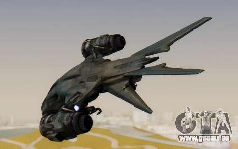 HK Aerial from Terminator Salvation pour GTA San Andreas vue de droite