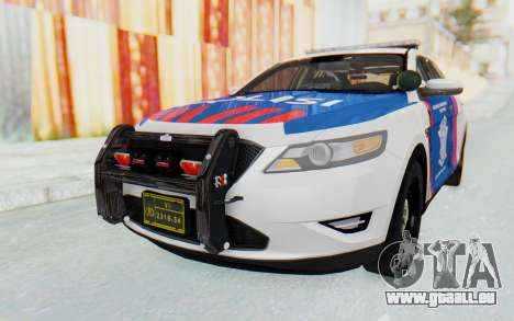 Ford Taurus Indonesian Traffic Police für GTA San Andreas