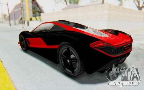 GTA 5 Progen T20 Devil PJ für GTA San Andreas obere Ansicht
