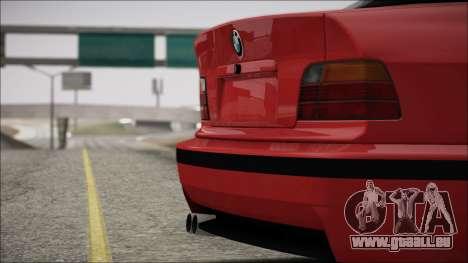 BMW E36 Stance für GTA San Andreas Seitenansicht