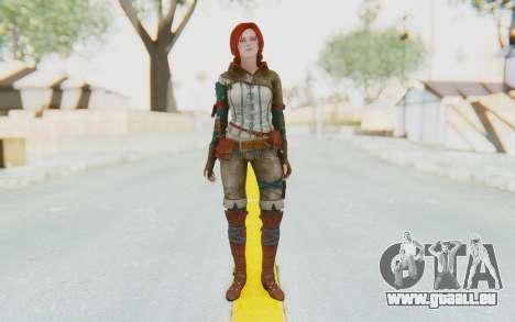 The Witcher 3 - Triss Merigold WildHunt Outfit für GTA San Andreas zweiten Screenshot