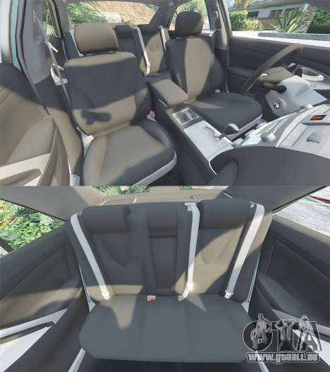 GTA 5 Toyota Camry V40 2008 [tuning] Lenkrad