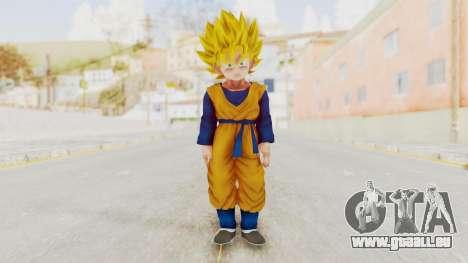 Dragon Ball Xenoverse Goten SSJ pour GTA San Andreas deuxième écran