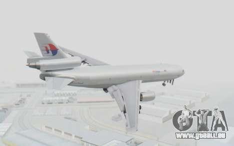 DC-10-30F MASkargo pour GTA San Andreas laissé vue