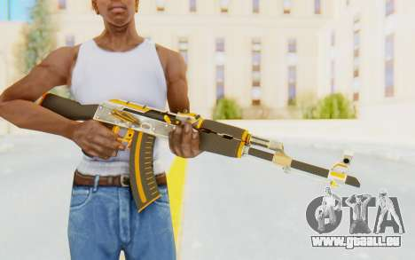 CS:GO - AK-47 Carbon Edition für GTA San Andreas dritten Screenshot
