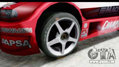 Volkswagen Polo TC2000 Temporada 2005(06) pour GTA San Andreas vue arrière
