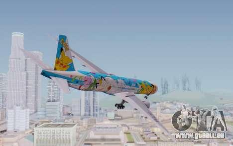 Boeing 777-300ER ZK-OKR pour GTA San Andreas laissé vue