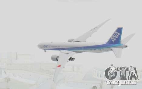 Boeing 777-300ER ANA JA735A pour GTA San Andreas vue de droite