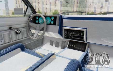 GTA 5 Willard Faction Custom Donk v2 für GTA San Andreas Innenansicht