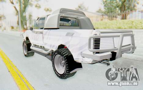 Ikco Super Peykan Pickup für GTA San Andreas linke Ansicht