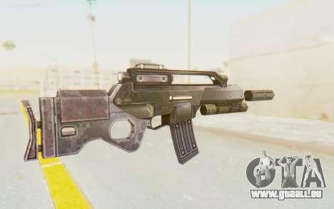 APB Reloaded - STAR 556 LCR pour GTA San Andreas deuxième écran