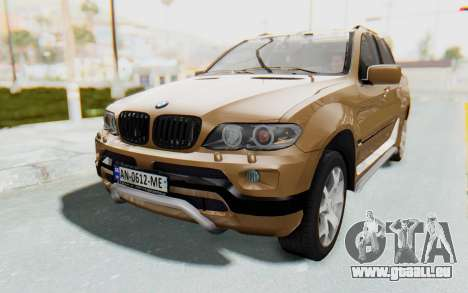 BMW X5 Pickup für GTA San Andreas