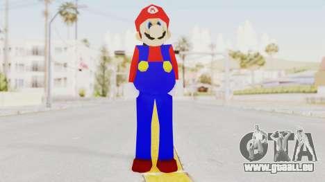 Mario pour GTA San Andreas deuxième écran