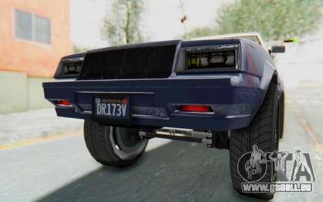 GTA 5 Willard Faction Custom Donk v3 IVF für GTA San Andreas Innen