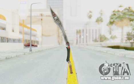 Nata Weapon pour GTA San Andreas troisième écran
